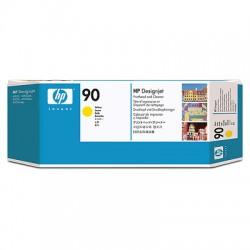 HP - Limpiador de cabezales de impresión y cabezal de impresión DesignJet 90 amarillo