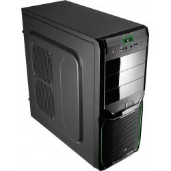 Aerocool - V3X Advance Midi-Tower Negro carcasa de ordenador - 10883147