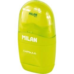 Milan - Afilaborra y afilalápiz Capsule Simple