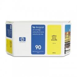 HP - Cartucho de tinta DesignJet 90 amarillo de 400 ml
