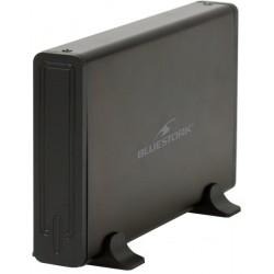 "Bluestork - BS-EHD-35-COMBO-F 3.5"" Negro caja para disco duro externo"