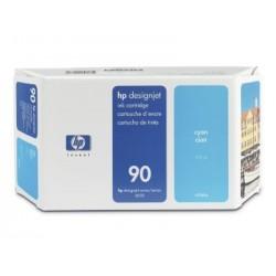 HP - Cartucho de tinta DesignJet 90 cian de 225 ml