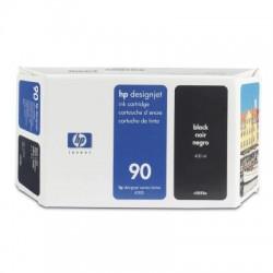 HP - Cartucho de tina DesignJet 90 negro de 400 ml