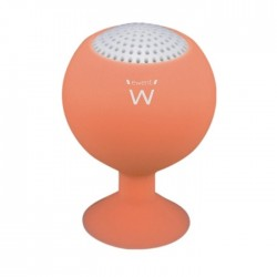 Ewent - eStand 2 W Mono portable speaker Naranja
