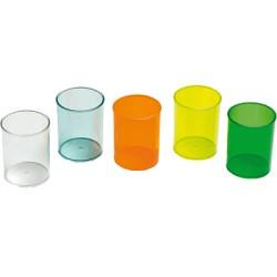 FAIBO - 205-23 porta lápices Transparente Poliestireno