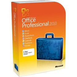 Microsoft - Office 2010 Professional Plus, GOV, OLP-NL, SA Gobierno (GOV)