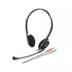 Genius - HS-200C Auriculares Diadema Negro