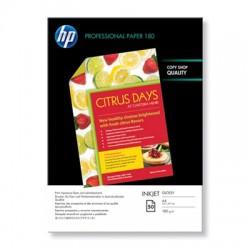HP - Papel satinado profesional para inyección de tinta - 50 hojas//210 x 297 mm