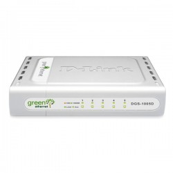 D-Link - DGS-1005D/E Conmutador de red no administrado L2 Blanco switch