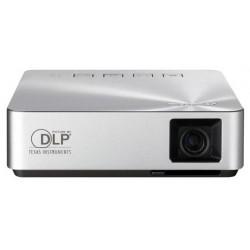 ASUS - S1 videoproyector 200 lúmenes ANSI DLP WVGA (854x480) Proyector portátil Plata