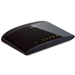 D-Link - DES-1005D Conmutador de red no administrado Fast Ethernet (10/100) Negro