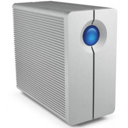 LaCie - 2big Quadra USB 3.0 8000GB Escritorio Aluminio unidad de disco multiple