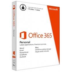 Microsoft - Office 365 Personal 1usuario(s) 1año(s) Plurilingüe