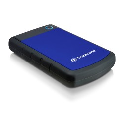 Transcend - 2TB StoreJet 25H3 2000GB Negro, Azul disco duro externo