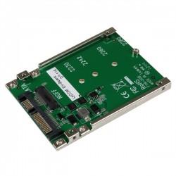 StarTech.com - Adaptador Conversor SSD M.2 NGFF a SATA de 2,5 Pulgadas - Convertidor M2 a SATA tarjeta y adaptador