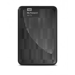 Western Digital - My Passport AV-TV 1TB 1000GB Negro disco duro externo
