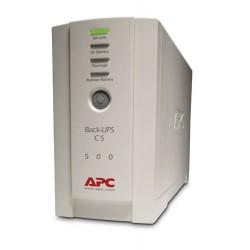 APC - Back-UPS sistema de alimentación ininterrumpida (UPS) En espera (Fuera de línea) o Standby (Offline) 500 VA 300 W 4 salida