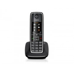Gigaset - C530 Teléfono DECT Negro Identificador de llamadas