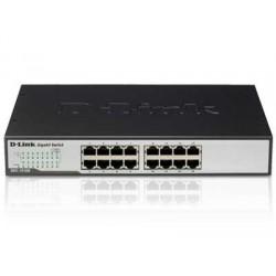 D-Link - DGS-1016D/E switch No administrado Negro, Metálico