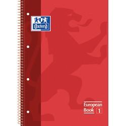 Oxford - 100430198 cuaderno y block Rojo A4