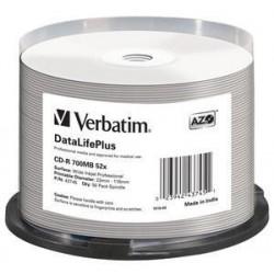 Verbatim - DataLifePlus CD-R 700MB 50pieza(s)