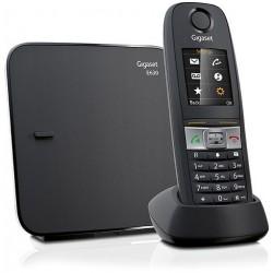 Gigaset - E630 Teléfono DECT Negro Identificador de llamadas