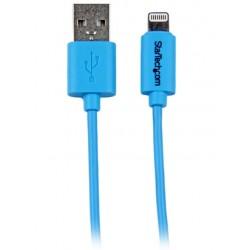 StarTech.com - Cable de 1 metro con Conector Lightning de Apple a USB para iPhone / iPod / iPad - Azul