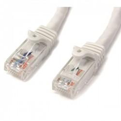 StarTech.com - Ethernet Cat6 Snagless de 1m Blanco - Cable Patch RJ45 UTP