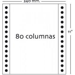 Fabrisa - Caja 2500h Papel 1h 240x11 Blanco
