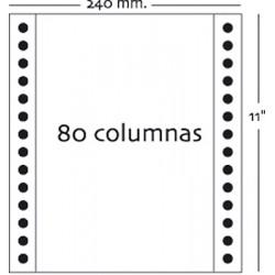 Fabrisa - Caja 1000h Papel 3h 240x11 Blanco autocopiativo