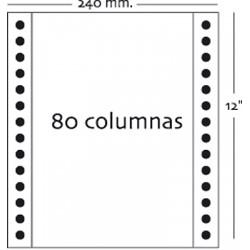 Fabrisa - Caja 2500h Papel 1h 240x12 Blanco autocopiativo