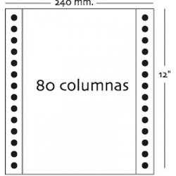 Fabrisa - Caja 1500h Papel 2h 240x12 Blanco autocopiativo