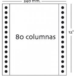 Fabrisa - Caja 1000h Papel 3h 240x12 Blanco autocopiativo