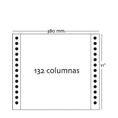 Fabrisa - Caja 2500h Papel 1h 380x11 Blanco