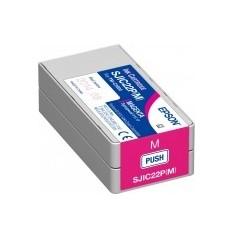Epson - SJIC22P(M): Ink cartridge for ColorWorks C3500 (Magenta)