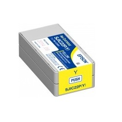 Epson - SJIC22P(Y): Ink cartridge for ColorWorks C3500 (yellow)