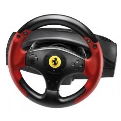 Thrustmaster - Ferrari Racing Wheel Red Legend PS3&PC Volante + Pedales PC,Playstation 3 Negro, Rojo