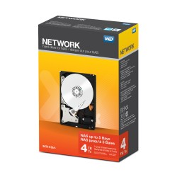 Western Digital - Desktop Networking Unidad de disco duro 4000GB Serial ATA III disco duro interno