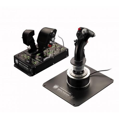 Thrustmaster - Hotas Warthog Palanca de mando PC,Playstation 3 Negro
