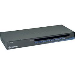 Trendnet - 16-Port USB/PS/2 Rack Mount KVM Switch interruptor KVM Montaje en rack Negro