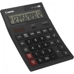 Canon - AS1200HB calculadora Desktop Basic Grey