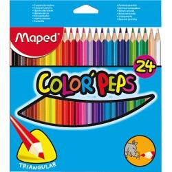 Maped - 183224 laápiz de color 24 pieza(s)