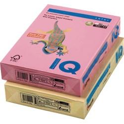 IQ - Papel multifunción color 500h 80 g. A4 Amarillo