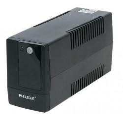 Phasak - PH 9404 sistema de alimentación ininterrumpida (UPS) 400 VA 2 salidas AC