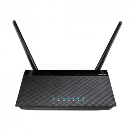 ASUS - RT-N12 D1 Banda única (2,4 GHz) Ethernet rápido Negro router inalámbrico