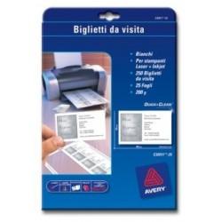 Avery - C32011-25 tarjeta de visita 250 pieza(s)