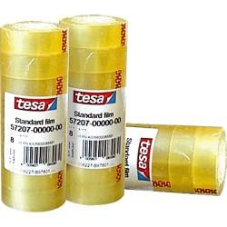 TESA - 57226 cinta adhesiva 66 m Transparente 8 pieza(s)