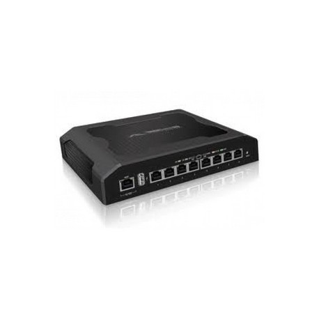 Ubiquiti Networks - TS-8-PRO Gigabit Ethernet 48V adaptador e inyector de PoE
