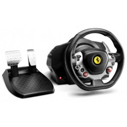 Thrustmaster - TX Racing Wheel Ferrari 458 Italia Edition Volante + Pedales PC, Xbox One Negro, Plata
