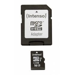Intenso - 16GB microSDHC memoria flash Clase 10 UHS-I